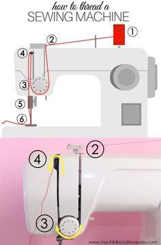 Most up-to-date Screen sewing tutorials step by step Popular How to Thread a Sewing Machine: Easy Step by Step Tutorial Sewing Machine Basics, Sewing Machine Tension, Sewing Machine Drawers, Sewing Machine Repair, Sewing Machine Thread, Sewing Machine Projects, Sewing Machine Tables, Sewing Basics, Sewing Projects For Beginners