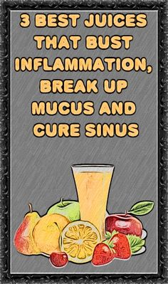 By drinking specific juices, you may be able to fight the inflammation and begin clearing your nasal passage of mucus. Use these 5 juice recipes to deal with your stuffy nose or sinus congestion. Healthy Juice Recipes, Healthy Detox, Healthy Juices, Healthy Smoothies, Healthy Drinks, Smoothie Recipes, Health And Fitness Expo, Health And Fitness Articles, Sinus Congestion