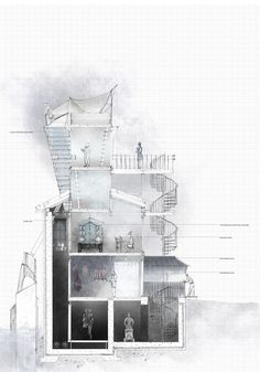 Pin by Palette Graphics on [ architectural drawings ] | Pinterest