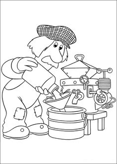 Postman pat Coloring Pages DIGI KUVAT 2 Pinterest