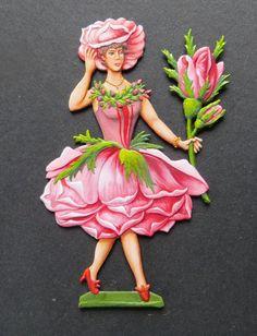 "Zinnfigur ""Rose"""
