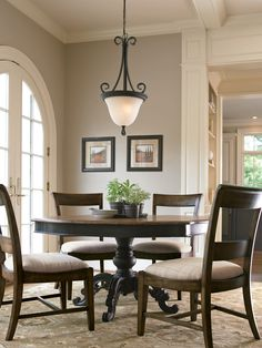Great Rooms Collection- Brimfield Table and High Country Side Chair
