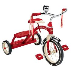 Radio Flyer Classic Red Dual Deck Tricycle New from Target 57.99
