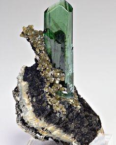 Vivianite --- Huanuni mine, Dalence Province, Potosi Department, Bolivia