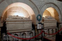 Sé de Braga - Tumulos de D. Henrique de Borgonha, conde de Portucale, e sua esposa, Teresa de Leão,