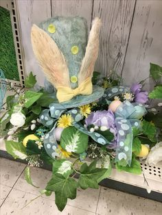 Easter centerpiece Kelly Wilson Michaels Floral Designer