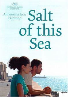 SALT OF THIS SEA - Milh Hadha al-Bahr Suheir Hammad - 2008 ORIG. FILMPOSTER A4