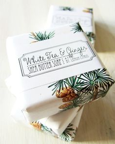 White Tea and Ginger Shea Butter Soap $6