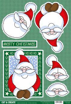 Buzzcraft Christmas Cut & Create - Winter Wonderland - Father Christmas