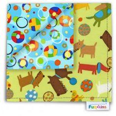 Funkins - Cloth Napkin - Poochie Pals Eco Kids, Cloth Napkins, Lunch Box, Kids Rugs, Kid Friendly Rugs, Bento Box, Nursery Rugs