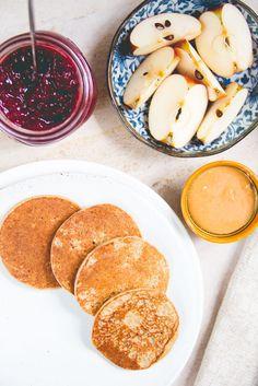 vegan banana pancakes 4