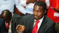 CS Kiunjuri has suffered the most during the latest government reshuffle of the Cabinet Secretaries.He got fired by the president. Getting Fired, Head Of State, Cordial, Agriculture, Presidents, Cabinet, News, Clothes Stand, Closet