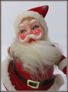 Vintage Santa figurine from 1950s Z