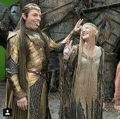 Elfnerds Elrond and Galadriel!  #mpfwshop myprecious.us
