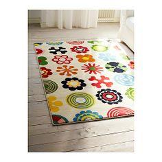 LUSY BLOM Teppich Kurzflor IKEA Wärmegehärtete Polypropylenfasern sorgen für stabilen und elastischen Flor.