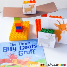 The Three Billy Goats Gruff STEAM Bridge Building Activity for Kids
