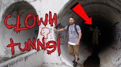 Haunted Clown Tunnel Other Side Of Faze Rug Tunnel Vampire School Haunting Vampire