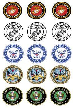 Military Logos I Just Like It Pinterest Military