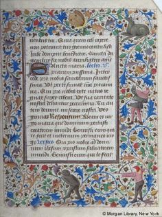Book of Hours, MS M.28 fol. 32r - Images from Medieval and Renaissance Manuscripts - The Morgan Library & Museum