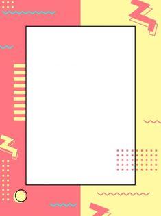 Pure Pop Style Geometric Advertising Background – back Poster Background Design, Geometric Background, Background Powerpoint, Background Templates, Cute Backgrounds, Wallpaper Backgrounds, Wallpapers, Page Borders Design, Polaroid Frame