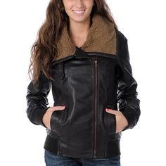 Obey Outsider Brown Bomber Jacket  $104.95