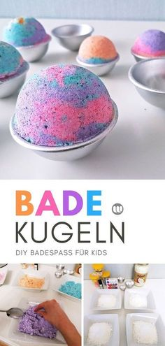 Instructions: Create bubbling colorful bath balls for kids- Anleitung: Sprudelnde bunte Badekugeln für Kinder herstellen How to make bubbly colorful bathing balls for kids Simple instructions and recipe for colorful bath bombs for kids to make yourself. Wallpaper World, Bath & Body Works, Holiday Break, Presents For Her, Mom Day, Vestidos Vintage, Hacks, Toys Shop, Just Giving