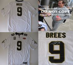 245ba4af928 Drew Brees New Orleans Saints signed autographed, Saints Jersey, COA with  the Proof Photo of Drew signing the Jersey Will Be Included