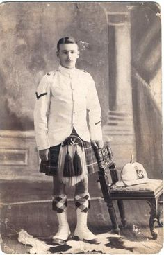 In India shortly before the Great War, 1st Battalion Seaforth Highlanders