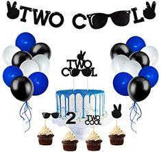 Baby Boy Birthday Themes, 2nd Birthday Party For Boys, Second Birthday Ideas, Party Themes For Boys, Birthday Celebration, Rockstar Birthday, Twin Birthday, Cat Birthday, Mermaid Birthday