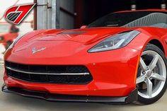 2014+ C7 Chevrolet Corvette GTX Front Splitter w/Side Splitters   Carbon Fiber