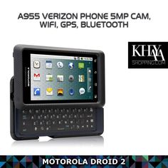 Looking for a #smartphone with a physical keyboard? Consider the Motorola Droid 2 sports with a sleeker look!   Get it now on www.khayashopping.com  #OnlineShopping #MotorolaDroid2 #Harare