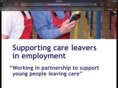 Pack for employers to support care leavers and employment