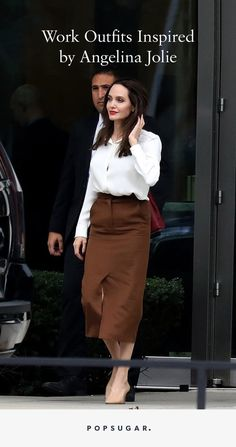 14 Lessons in Power Dressing Straight From Angelina Jolie - Angelina Jolie Work Outfit Ideas - Power Dressing Women, Angelina Jolie Style, Angelina Joile, Image Fashion, Look Boho, Aesthetic Women, Jolie Photo, Work Wardrobe, Classy Outfits