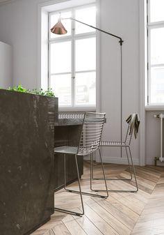 Minimal kitchen Interior visualisations by Tomek Michalski