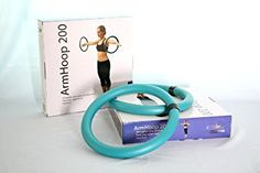 Sports Hula Hoop for Workout - ARMHOOP 200 - box 200 gram. 2 Hoops