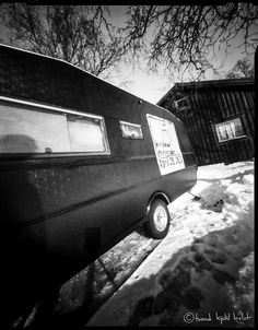 Another pinhole image of The Giant Mobile Camera ready for WPPD 2013 Photography Day, Image