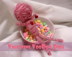 My World - Made By Hand: Valentines Voodoo Doll! {tutorial}
