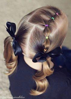 Peinados para bebes ninas pelo corto