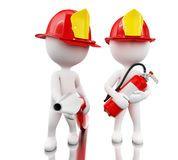 bombero 3d con el helment, la manguera y el extintor Imagen de archivo Infographic Template Powerpoint, Powerpoint Animation, 3d Human, Sculpture Lessons, 3d Icons, White People, Little People, Clip Art, Fire Safety
