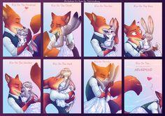 #WildeHopps Kiss Meme by TheWinterBunny on DeviantArt