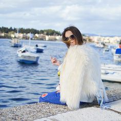 Get this look: http://lb.nu/look/8574572  More looks by Tamara Bellis: http://lb.nu/tamarabellis  Items in this look:  Zaful Coat, Sammydress Bag, Sammydress Jeans, Zaful Sunglasses   #casual #chic #street