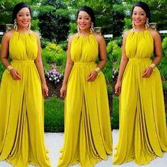 Sleeveless Prom Dress,Chiffon Evening Dress,Long Prom Dresses,Formal Dress