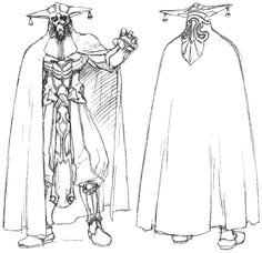 Grahf With Cape - Characters & Art - Xenogears