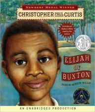 """Elijah of Buxton by Christopher Paul Curtis """"It was Sunday after church and all my chores were done. I was sitting on the porch of our home trying to think what to do. Historical Society, Historical Fiction, Black Canadians, Newbery Medal, Newbery Award, Coretta Scott King, Frederick Douglass, Family Outing, Chapter Books"""