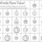 This is a simple set of sheets that allow kids to add up the value of their spelling words as a way to practice those words AND practice adding coi... Fifth Grade Math, Sixth Grade, Fourth Grade, First Grade, Second Grade, Word Work Centers, Math Centers, Love Teacher, Teacher Pay Teachers