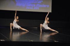 Lyrical contemporary dance #contemporary #lyrical #dance #white #dress #dancers Livia & Alexandra #novumdance