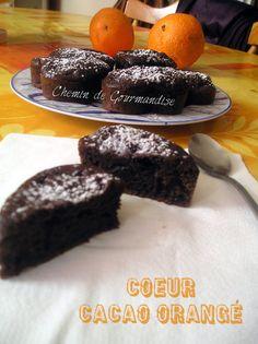 Coeur cacao orangé : la recette facile