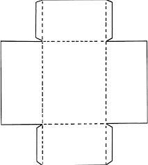 Resultado de imagem para moldes para caixinhas de doces