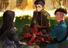 Superhero Family, Batman Family, Teen Titans Fanart, Teen Titans Go, Damian Wayne, Robin And Raven, Avatar Cartoon, Al Ghul, Dc Heroes