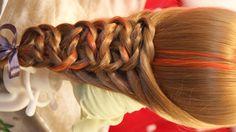 Узелковая коса на резинках